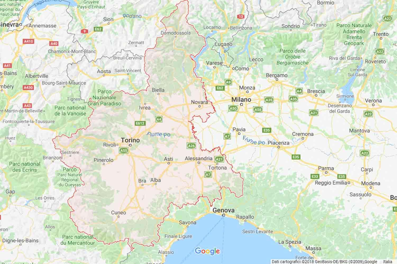 Piemonte - Alessandria - Volpeglino Preventivi Veloci google maps