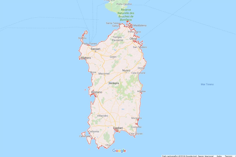 Sardegna - Sud Sardegna - Segariu Preventivi Veloci google maps